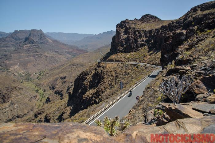 Viaggio in moto in Spagna: a Gran Canaria con la Ducati XDiavel. La spettacolare GC60