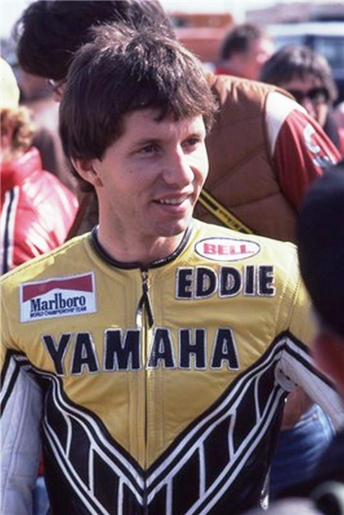 Eddie Lawson nel 1979, quando è pilota Yamaha nel National 250