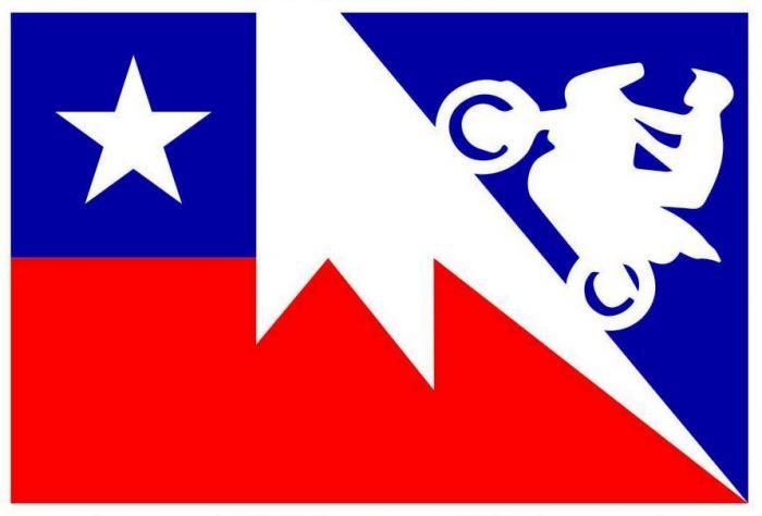 """La """"Scalata dei record"""" è un'impresa alla caccia di tre record di """"motociclismo in altura"""" tentata da un team di cui fa parte il nostro tester, Francesco Catanese. La moto è una Honda Africa Twin, il luogo è il Nevado Ojos de Salado, il vulcano attivo più alto del mondo (6.890 m), al confine nord tra Cile e Argentina. Il logo dell'impresa"""