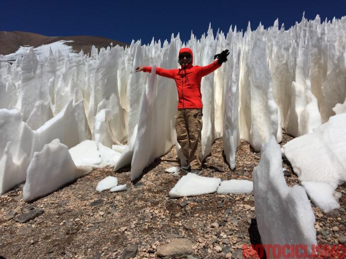 Per prepararsi all'impresa in Cile, il team ha fatto un sopralluogo a dicembre 2016
