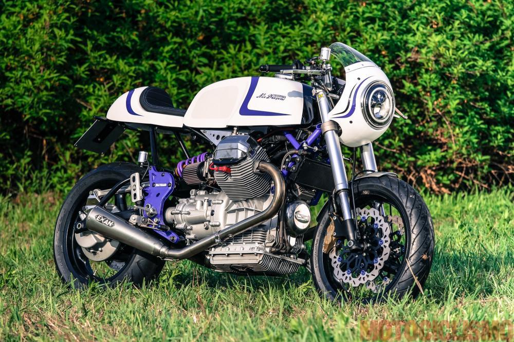 The Bike Field 2017: la Moto Guzzi V11 di Nico Dragoni