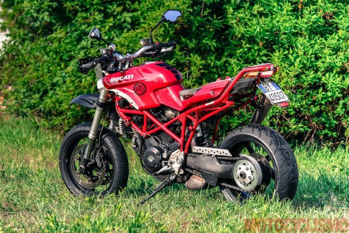 The Bike Field 2017: la Ducati di Pietro Leucci