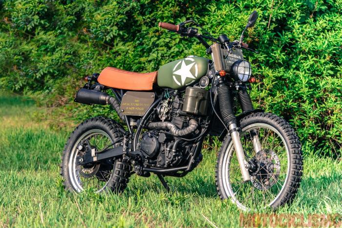 """The Bike Field 2017: la Kawasaki di Filippo Zaccarini, prima classificata della categoria """"Traveller"""""""