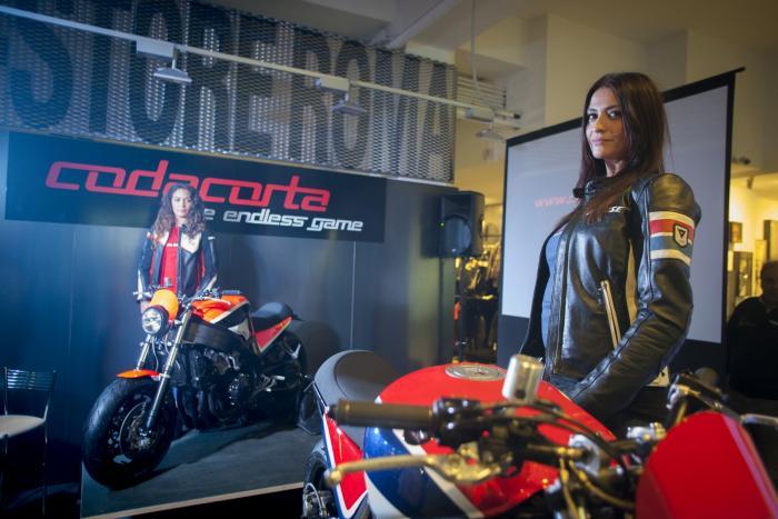 """La presentazione della """"Codacorta"""" è avvenuta al Dainese D-Store di Roma"""