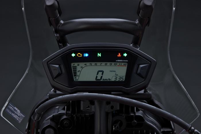 Honda CRF250 Rally: la strumentazione