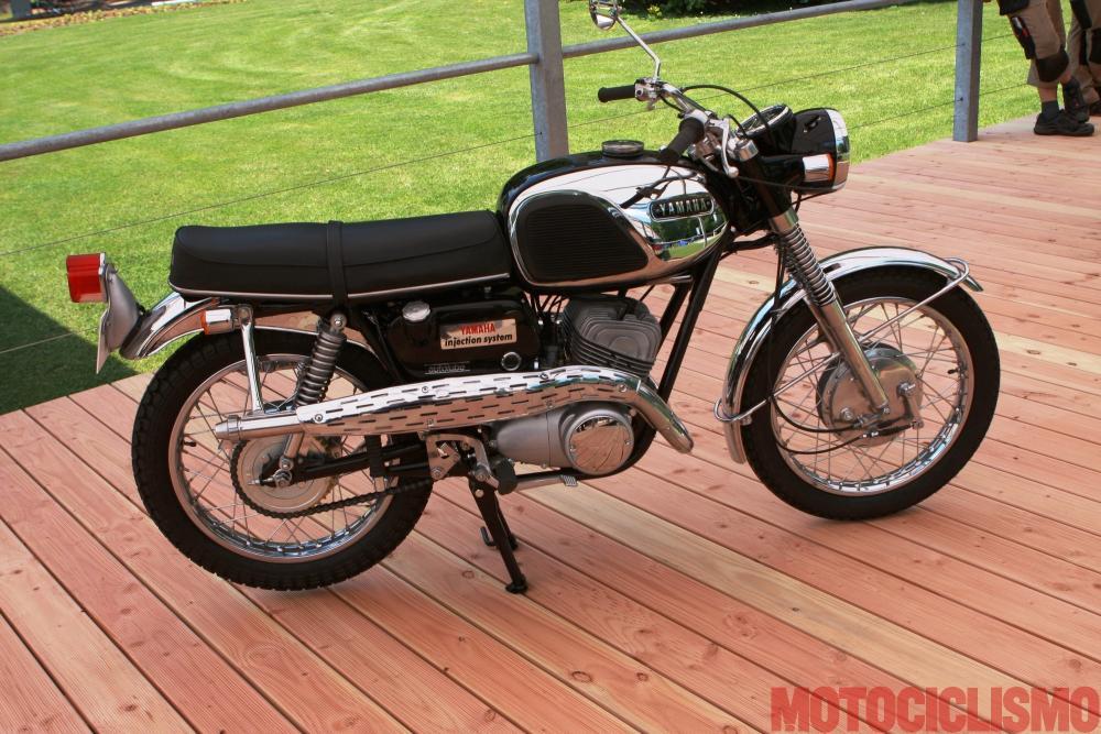 Concorso di Motociclette 2017: la Yamaha YM2C, bicilindrica di 305 cc del 1967. Ha vinto nella Classe C
