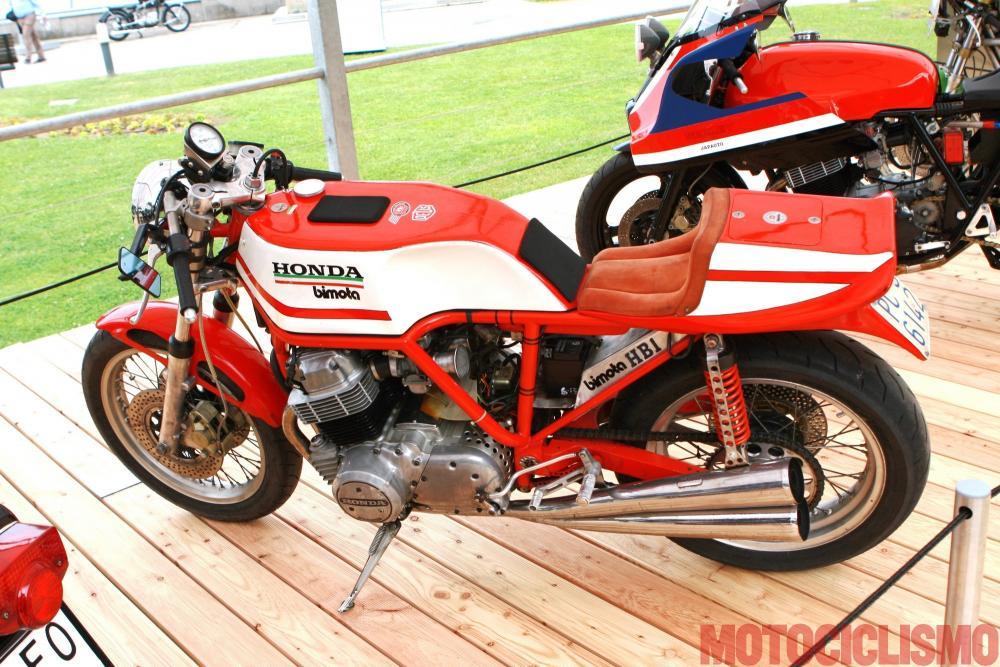 Concorso di Motociclette 2017: la Bimota HB1, 1975, motore 4 cilindri di 735 cc, prima nella Classe D