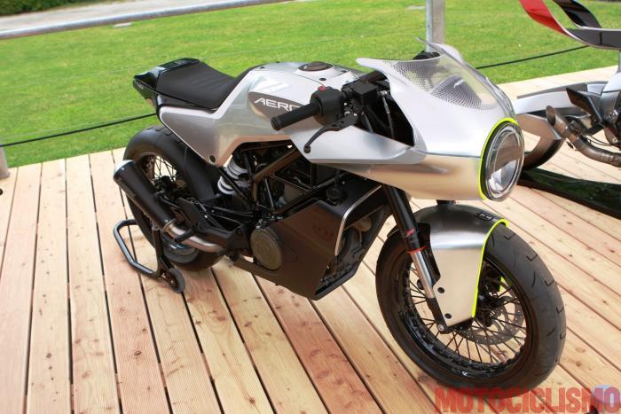Concorso di Motociclette 2017: la Husqvarna Aero Concept, seconda nella Classe E