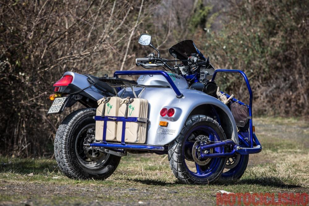 Comparativa naked medie 2017, Suzuki special sidecar