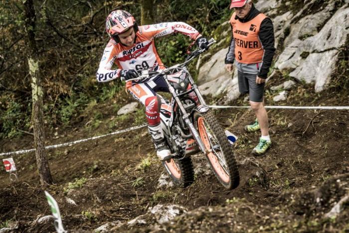 Mondiale Trial Outdoor 2017, Lourdes, Busto in azione