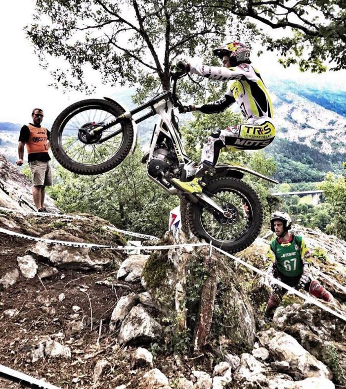 Mondiale Trial Outdoor 2017, Lourdes, Raga in azione
