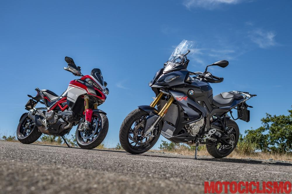 Prova Bmw S 1000 Xr E Ducati Multistrada 1200 Pikes Peak 2017 Pregi