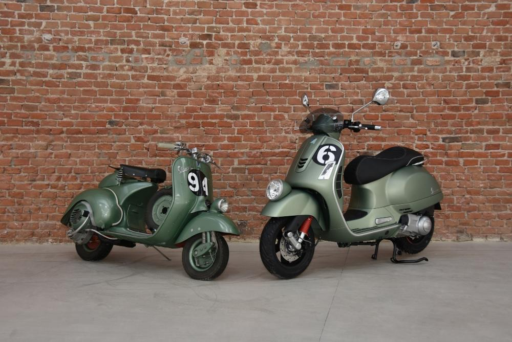 vespa sei giorni 300 il test di motociclismo motociclismo. Black Bedroom Furniture Sets. Home Design Ideas