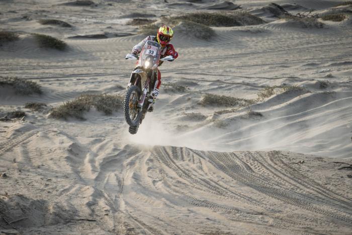 Daniel Nosiglia Jager durante la quinta tappa della Dakar 2018