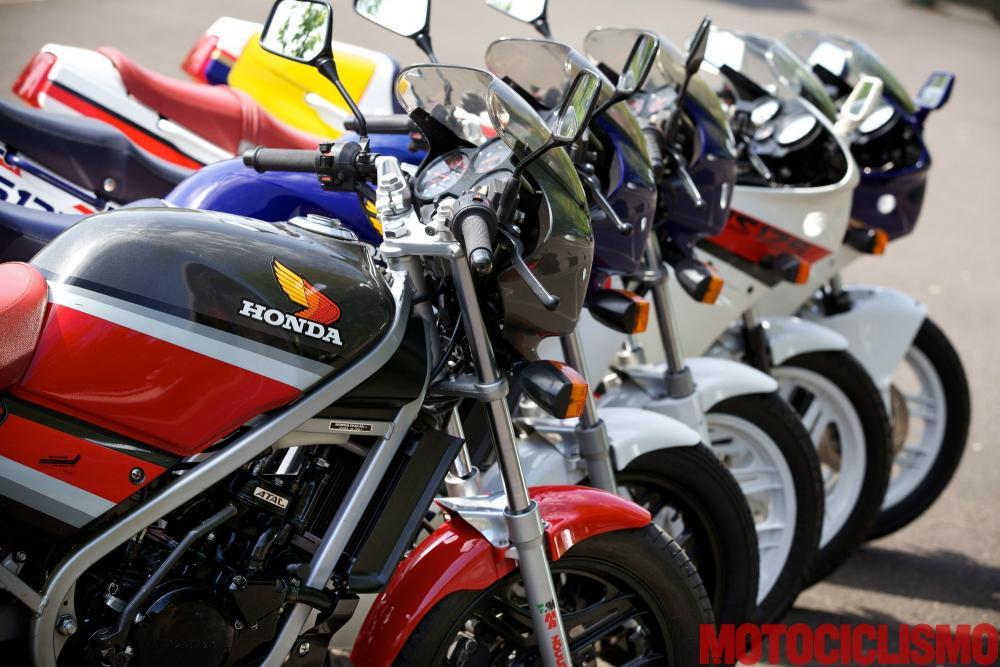 """La """"famiglia"""" Honda NS-F al completo"""