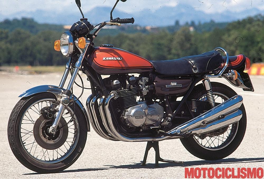 kawasaki z1 900 1972  storia e foto