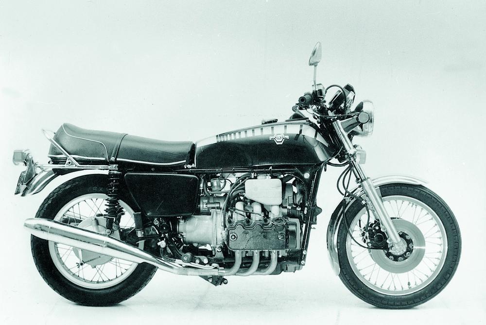 Il prototipo della Honda Gold Wing del 1973