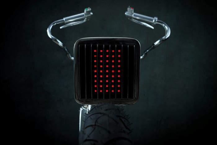"""Il faro posteriore a LED della Honda SuperSport special """"L•Concept"""" by Bandit9"""