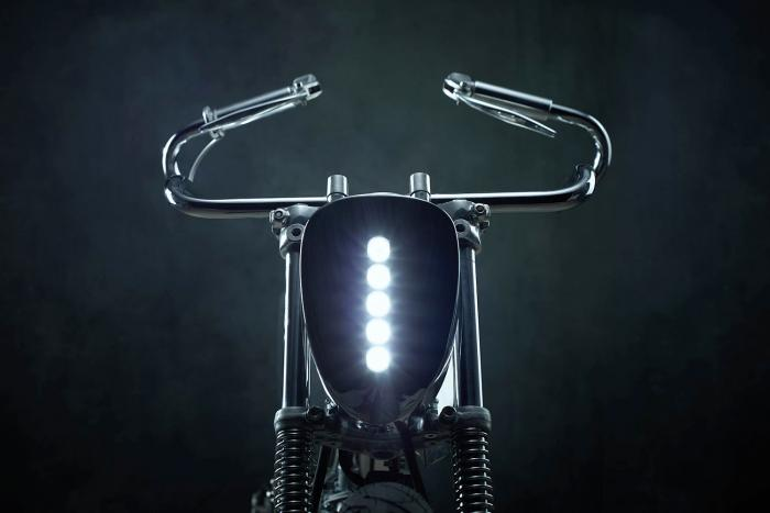 """Il faro anteriora a LED della Honda SuperSport special """"L•Concept"""" by Bandit9"""