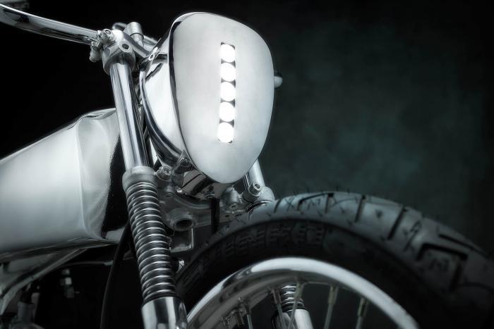 """Il faro anteriore a LED della Honda SuperSport special """"L•Concept"""" by Bandit9"""