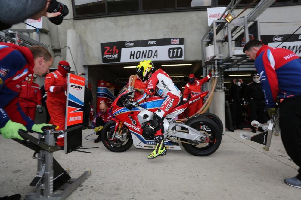 Team Honda Endurance: pit stop