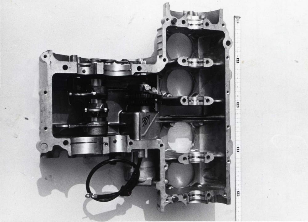 Il blocco motore della Honda CB500 Four