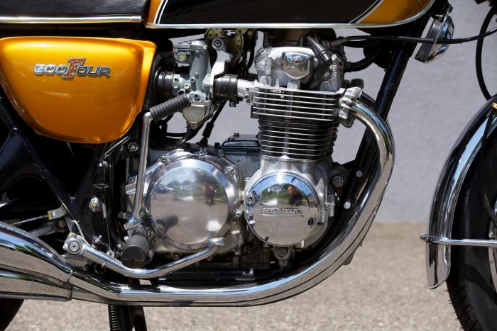 Il motore della Honda CB500 Four