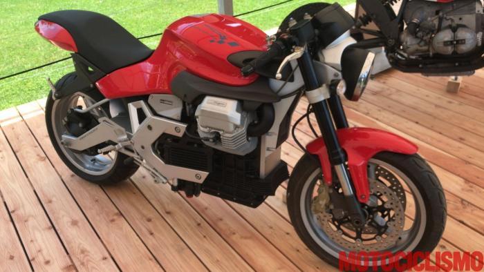 """Moto Guzzi """"Sogno"""" Concept Bike 2002"""