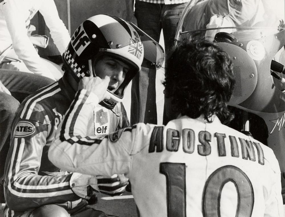 Phil Read e Giacomo Agostini