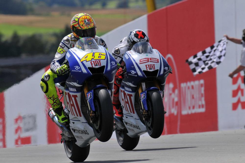 Rossi e Lorenzo