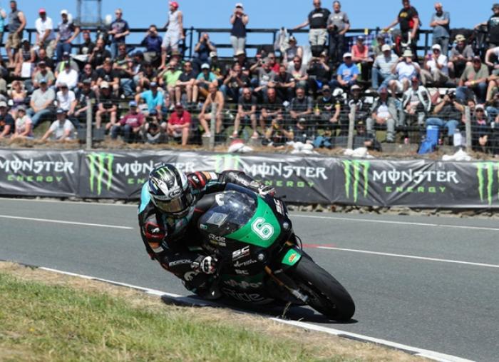 Tourist Trophy 2018: Dunlop durante la Lightweight