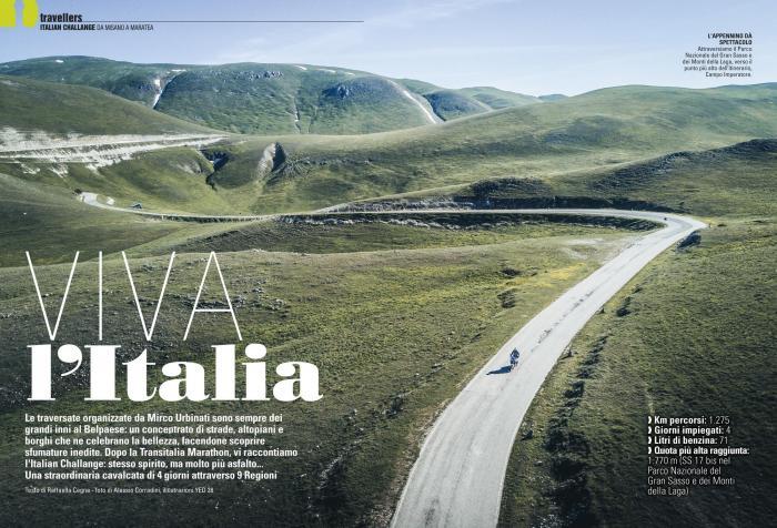 Quattro giorni e nove regioni con l'Italian Challenge