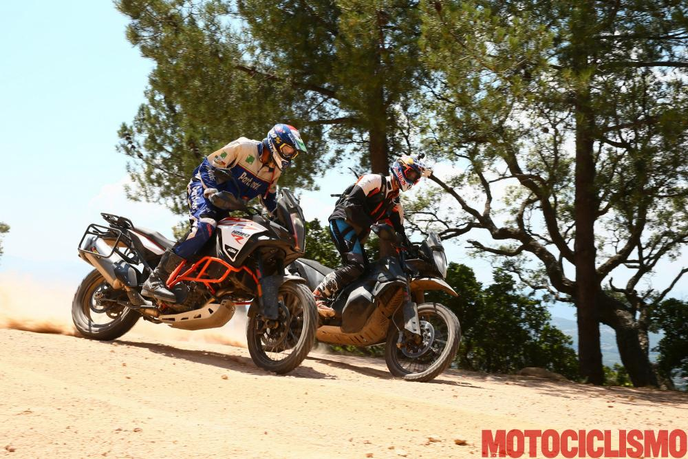 KTM 790 Adventure: nella foto il nostro Francesco Catanese e Chris Birch