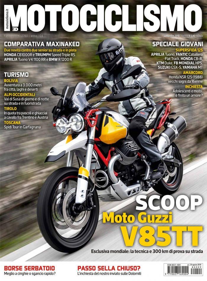 L'estate sta finendo e Motociclismo torna in edicola con una prova in esclusiva mondiale, quella della Moto Guzzi V85! Vi aspettiamo in edicola