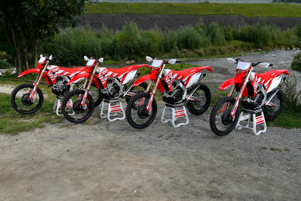 honda crf enduro racing 2019 crf 250rx crf 300rx crf400rx e crf rh motociclismo it