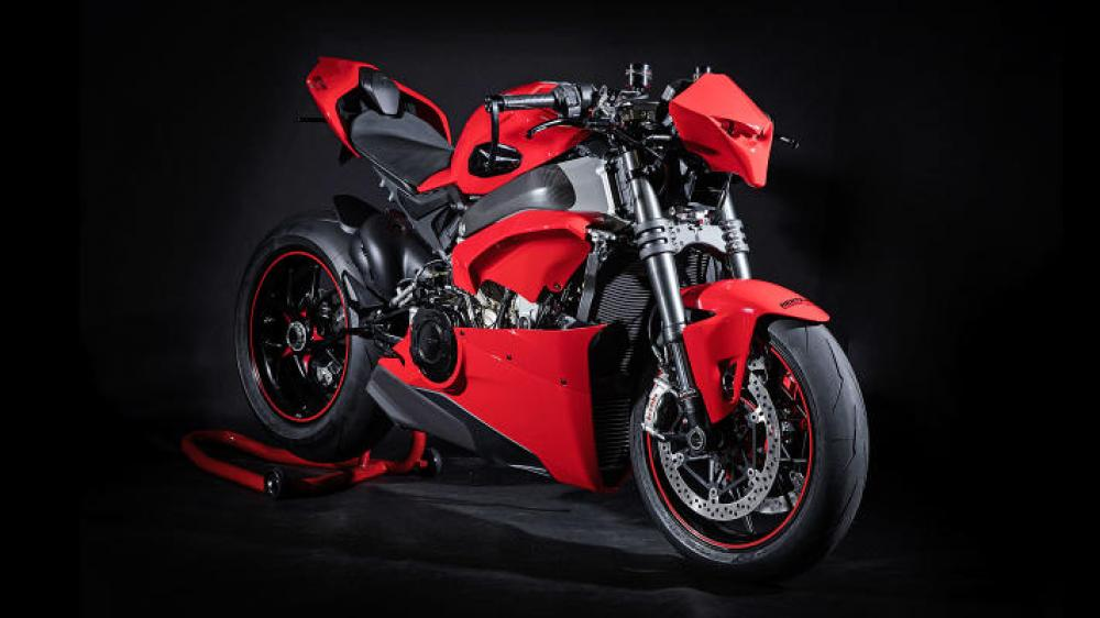 Ducati Panigale V4 Fighter Quot Hnb P1 Quot Special By Hertrampf