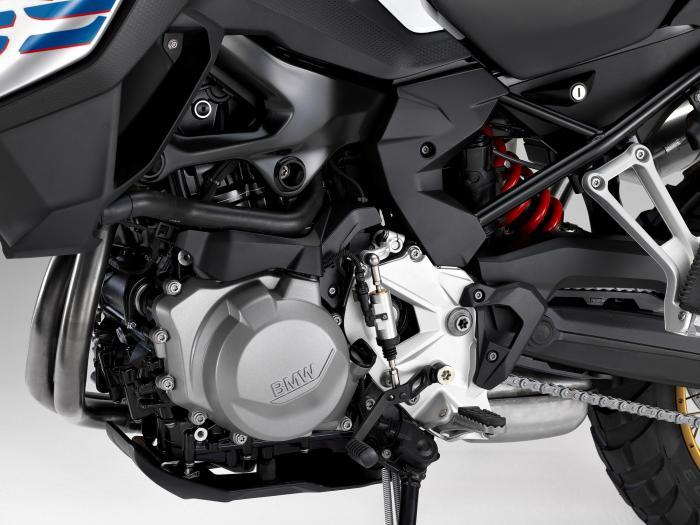 Il motore della BMW F 850 GS