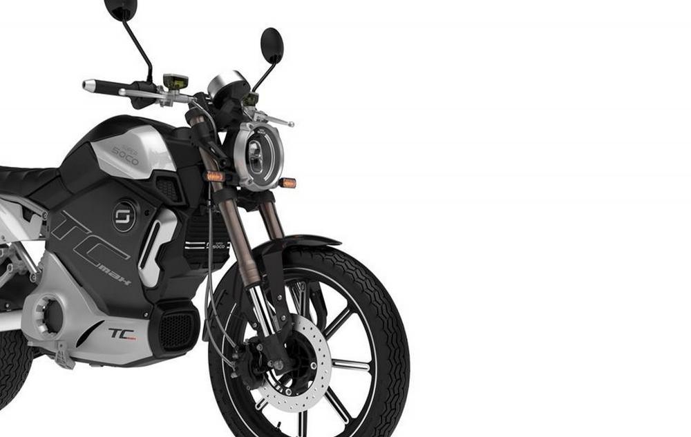 SUPER SOCO TC MAX 2019 125 cm3   moto routière   Noir