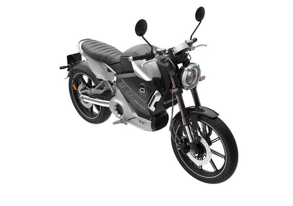 Moto Electrique 125 Super SOCO TC Max 2020 - 4699