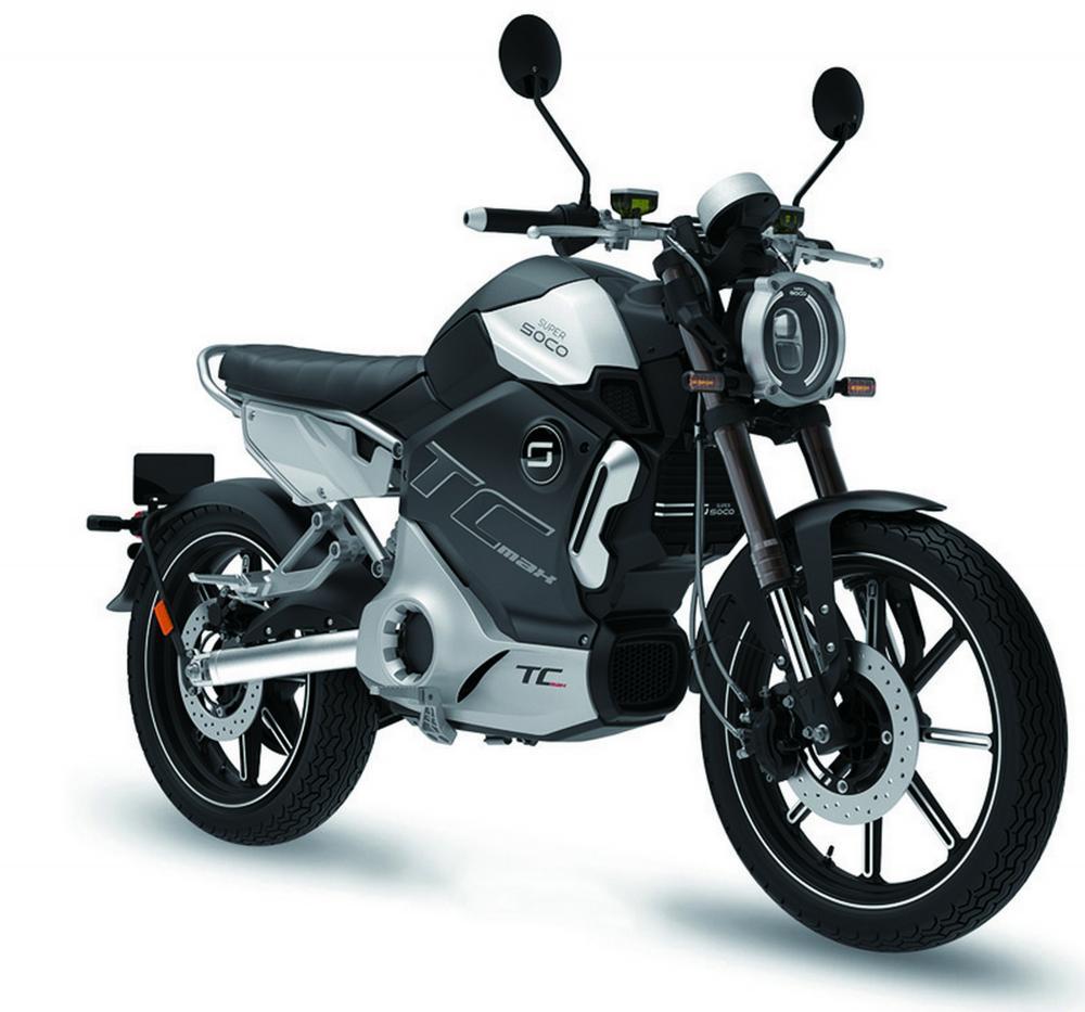 Super Soco TC-Max: 125 elettrica - Moto.it