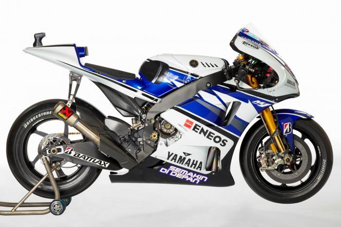 Yamaha YZF-M1 2012