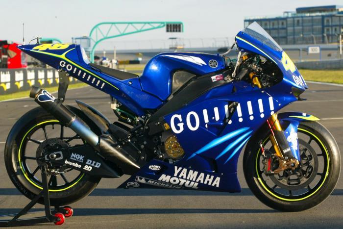 Yamaha YZF-M1 2004