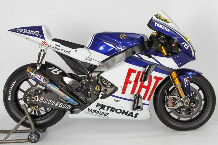 Yamaha YZF-M1 2010