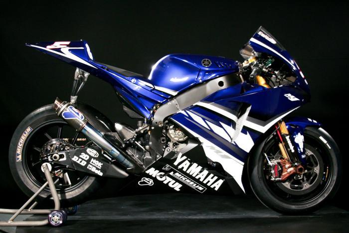 Yamaha YZF-M1 2007