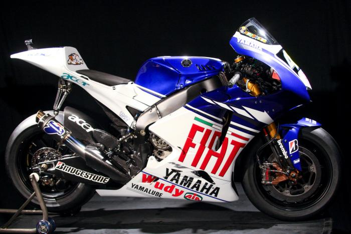 Yamaha YZF-M1 2008
