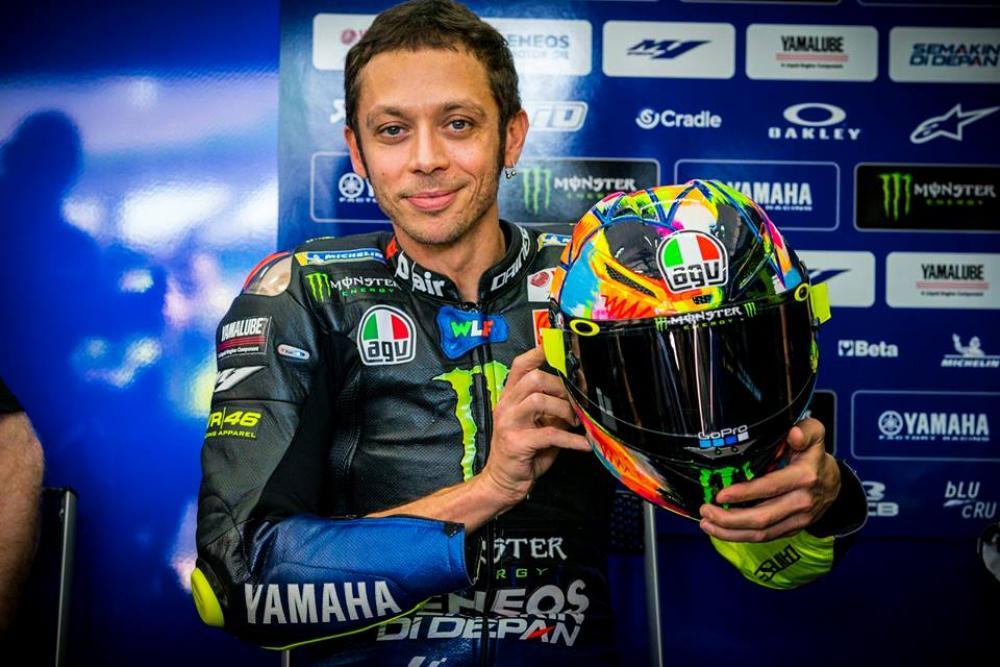 AGV Pista GP R Valentino Rossi Winter Edition 2019