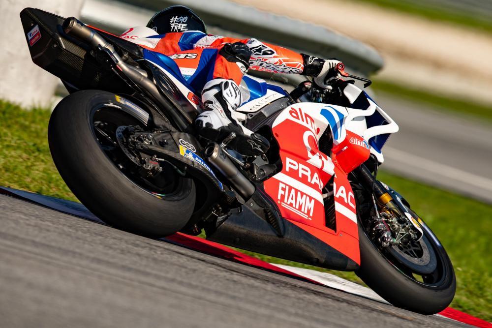 Test MotoGP 2019, Sepang: Bagnaia