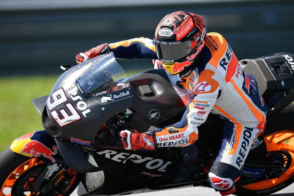 TestMotoGP2019,Sepang: Marquez