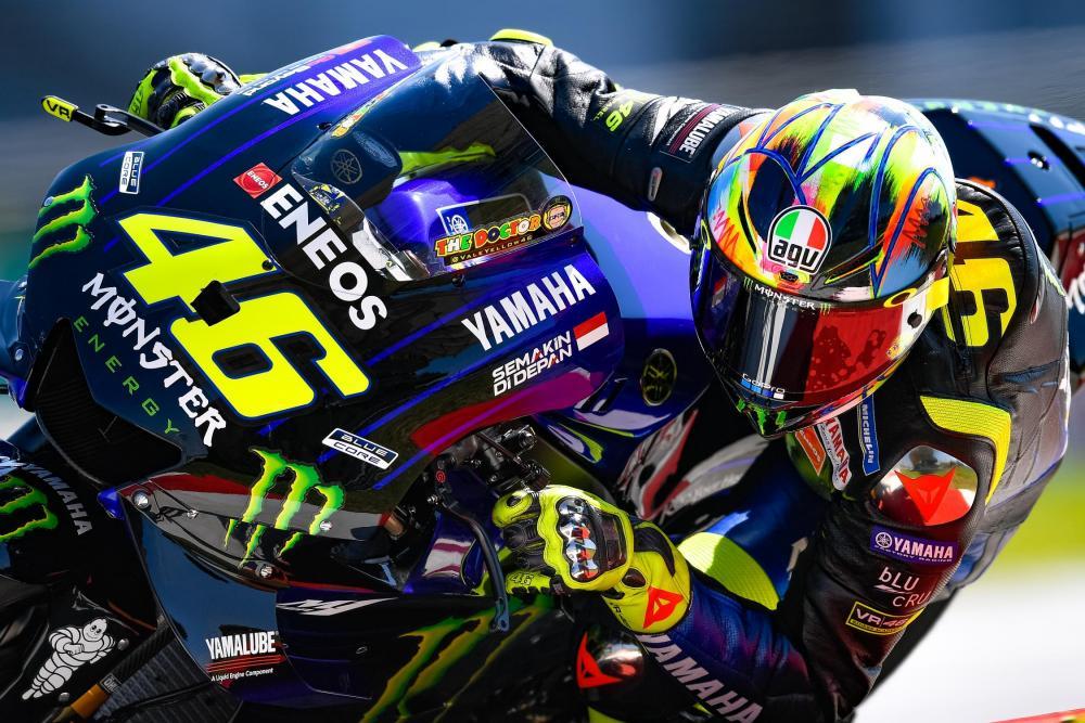 Test MotoGP 2019, Sepang: Rossi