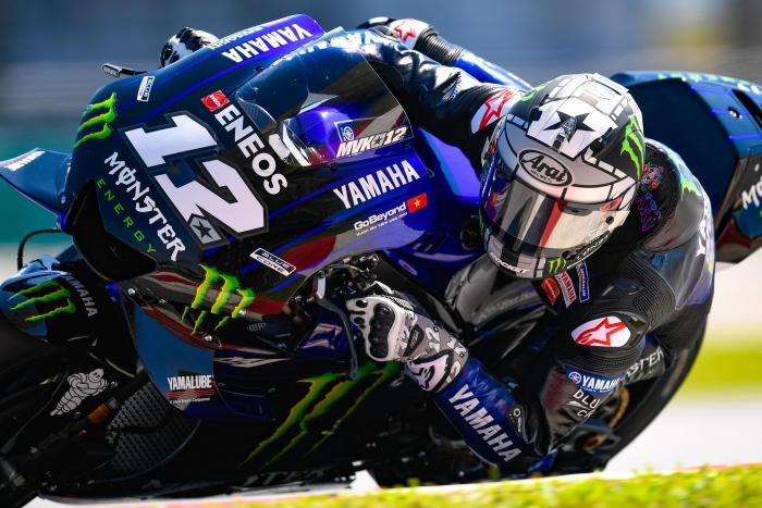 Test MotoGP 2019, Sepang: Vinales